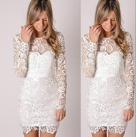 Cheap Reference Images Evening Dresses Best Crew Lace Cocktail Dresses