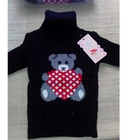 Wholesale Retail the children s sweaters cartoon warm clothes