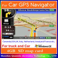 sd igo gps maps - Newest GPS map card SD card GB Memory card with IGO Primo GPS Navigator map Europe USA South America Australia Asia maps WinCE6 System
