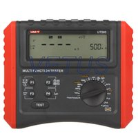 Wholesale Digital Multifunction Loop Tester Ground Line Loop Impedance Tester UT595 UT with Insulation Resistance Meter and RCD tester