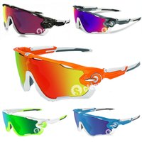 Wholesale 2015 Hot Fashion Lens Brand Polarized Jawbreaker Sunglasses For Men Women Sport Cycling Bicycle Running Mens Sun Glasses