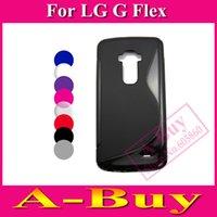 For LG TPU White 1 X S Line Soft Gel TPU Case Cover For LG Optimus G Flex D955 D956 D958
