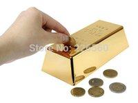 money box - Pieces Gold Bars Coin Bank Saving Pot Piggy Bank Money Bank Money Boxes Coin Box