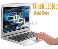 windows 7 laptop - 14 inch Dual Core laptop tablet pc DDR3 GB TO GB GB TO GB Win7 win Air Book D2500 Notebook Computer PC ultrabook cheap laptops