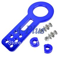 Wholesale New Front Tow Hook Towing Set Anodized Aluminum Blue