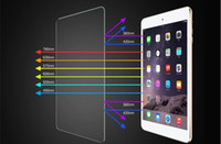 Wholesale Tempered Glass Screen Protector Laptop For Apple iPad air iPad HD mm Inch Corning Glass Clear Front iPA002