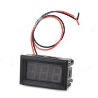 Wholesale HZDZ Digit Red LED Digital Voltage Meter DC V V