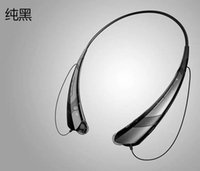 Cheap HBS-760 Wireless Bluetooth Stereo Headset Earphone Music Sport Neckband for Cellphones iPhone5 Samsung A+++With Package