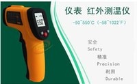 Wholesale GM550 Non Contact Laser LCD Display Digital IR Infrared Thermometer Temperature Meter Gun to