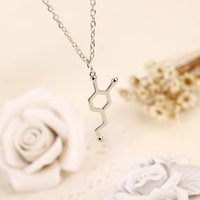 american creativity - 2016 Formula The Chemical Structure Formula Creativity Pendant Fashion new Simple Necklace For Women or Girls ZJ