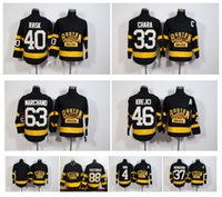 Wholesale Boston Bruins Winter Classic Jersey Black Zdeno Chara Patrice Bergeron Tuukka Rask Krejci Brad Marchand David Pastrnak