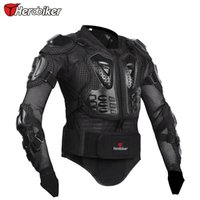 Wholesale Herobiker New Professional Motorcycle Body Prtection Motorcross Racing Full Body Armor Spine Chest Protective Jacket Gear
