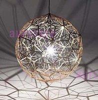 web design - Tom Dixon Etch Web pendant lamp Bedroom Living room Lamps modern design lighting tom dixon light