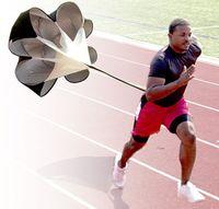 training equipment - 56 quot Speed Training Resistance Parachute Running Chute Speed Chute Running Umbrella With Storage Bag Power speed training equipment