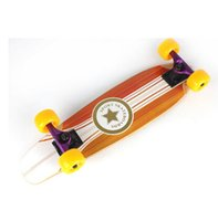 Wholesale Fashional maple Full board double warped four skateboard assembled sand bag Highway brush street skateboarding Freehipping