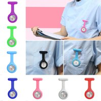 Wholesale Factory Price Silicone Medical Nurse Watch Cute Patterns Fob Quartz Watch Doctor Watch pocket Watches