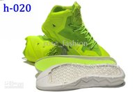 Cheap Wholesale Men s Basket Shoes Official 11 P.S. Elite Men s Sports Boot Hi Cut Athletics Men s Shoes Lime Men s Sneakers Online Cheapest Sale
