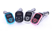 bentley new - High Quality New Arrival Rotatable Car MP3 Player inch LED Wireless FM Transmitter USB Disk For SD MMC TF Remote Control