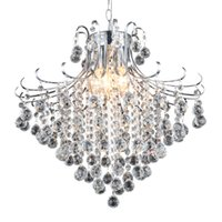 Wholesale Modern Crystal Chandeliers or Lights E26 E27 Living Bed Dinning Room Crystal Chandelier Lamps Chandelier Lighting
