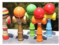 alphabet games free - 15 Colors CM Kendama Ball Japanese Traditional Wood Game Toy Education Gifts Hot Sale Activity Gifts toys Fedex EMS
