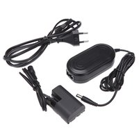 Wholesale ACK E6 AC V Power Adapter with DC Coupler Cable Kit for Canon EOS D D D D D Mark II III Camera order lt no track