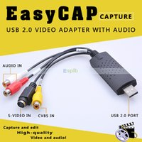 Wholesale High Speed USB2 EASYCAP Video Audio Adapter Capture
