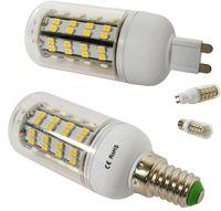 Wholesale High Power B22 E14 E12 G9 GU10 E27 E26 Led Lights SMD15W Lm Led Corn Lamp Warm Pure White Led Bulbs