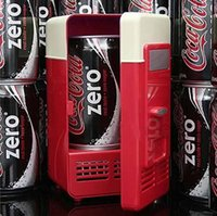 Wholesale Summer cooling and winter heat insulation refrigerator frozen iced creative gifts USB mini fridge gifts