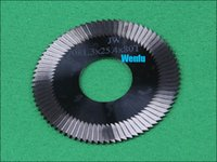Wholesale 70 mm key machine tungsten cutter key cutter key blade universal key cutter