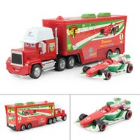 Wholesale Pixar cars Toys Diecast metal Mack car plastic truck F1 Francesco Bernoulli Hauler Small Racing