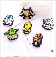 Wholesale 2016 star wars Darth Vader Fridge Magnet Cartoon PVC Magnet Home Décoration Refrigerator Magnets Dhgate Black Knight Stormtrooper Dolls