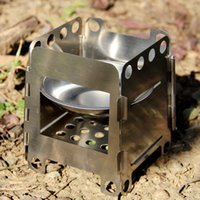alcohol burner fuel - 9 cm Pocket Size Multi Fuel Stove Stainless Steel Folding Alcohol Stove Outdoor Camping Cooking Wood Stove Burner