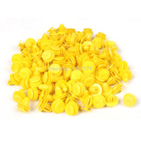 Wholesale 100 x14x10mm Yellow Car Plastic Rivet Fastener Replacement rivet steel rivet fastener rivet fastener