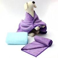 Wholesale 3 Sizes Confortable Warm Pet Felts Pure Color Coral Fleece Mat Dog Fashion Blanket Pet Products Autumn Winter