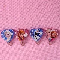 Wholesale 2015 New Princess Fever Elsa Anna Olaf Girls Clip Earrings Character Fashion Party Gift For Girls