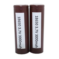Wholesale Original LGHG2 Battery MAH A Rechargeable Lithuim Batteries PK Sony VTC5 VTC4 VTC3 R Battery For Box Mod Fedex Free