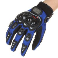 Cheap Stylish Full-Finger Racing Gloves (L-Size) Anti-slip Design Adjustable Wrist Strap Exercising Motorcycling Training