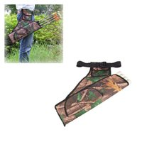 archery arrows sale - Hot Sale Oxford Arrow Quiver Bag Fabric Waist Belt Arrows Holder Arrow Quiver Bag Hunting Archery Accessories with Tubes