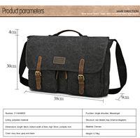 Wholesale New Canvas Fashion School Messenger Bags Canvas Crossbody Bag Shoulder Bag Brand Big Good Quality School Bag Fashion On Sale