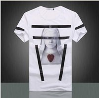 active innovation - new wave of innovation Men s T shirt printing hedging gauze beauty factory direct explosion models male short sleeved