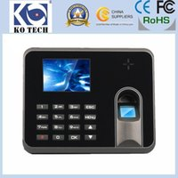 Wholesale KO M5 Nice Design Employee Time Attendance with Fingerprint Reader