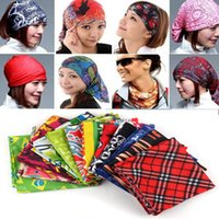 Wholesale Hiphop Outdoor Bandanas Hip Hop Bandanas x58 Cotton Confederate Rebel Flag Headbands Fashion Hiphop Headbands Mixed colors