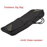 Wholesale Trombone Accessories Alto Tenor Trombone Gig Bag Trombone Case Water resistant Design Retail