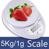 Wholesale Promotion Free DHL g g kg Food Diet Postal Kitchen Digital Scale scales balance weight weighting LED electronic B05 Christmas gift