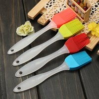 Wholesale Silicone Cooking Glazing Baking Bakeware Bread Cook Pastry Oil Cream BBQ Tool Pastry Basting Brush DHL FEDEX
