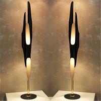 Wholesale Modern Creative Individuality Floor Lamps Living Room Bedroom Study Room Floor Lighting Fixtures Coltrane Bevel Aluminum Tube Lamps