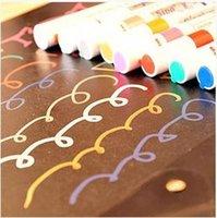 album suppliers - office stationery supplier paint pen paint pen colorful DIY photo album black card paint pen ARC922
