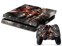 Cheap Assassins creed 0108 DECAL SKIN PROTECTIVE STICKER for SONY PS4 CONSOLE CONTROLL