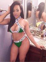 Cheap HILFIGER TOMMY bikinis woman Best Halter Bikini Set