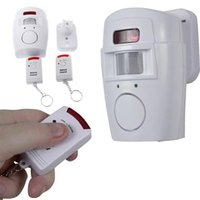 Wholesale Motion Sensor Alarm Chime Infrared IR Security Detector Home Wireless Protect ZH403